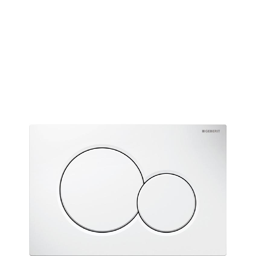 Image der WC-Betätigungsplatte aus der Designlinie My Home der Behrendt Gruppe