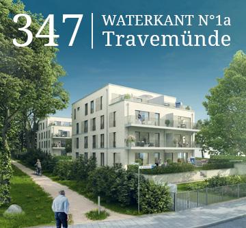 Teaser des Bauvorhabens in Travemünde als Hinweis zu der Projektseite