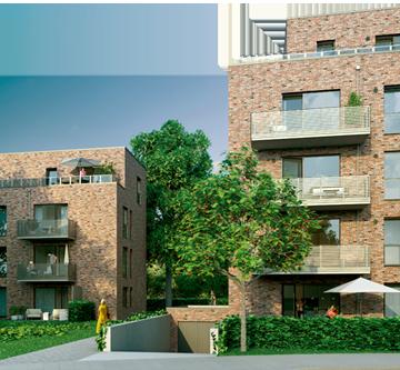Image eines Bauvorhabens in Rissen als Hinweis zu der Projektseite der Behrendt Gruppe