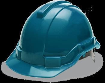 Icon eines Baustellenhelms als Hinweis zu den Infoterminen